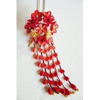 二重の花かんざし 剣の花追加
