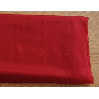画像1: 化繊キュプラ 赤