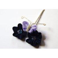 単品講座★ 人形-花と蝶