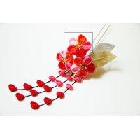 五色桜のかんざし 花追加
